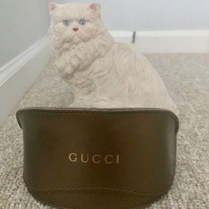 Gucci sunglasses bronze soft shell case